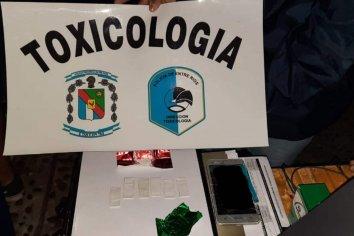 Cuatro jóvenes oriundos de Bueno Aires circulaban con distintas clases de estupefacientes