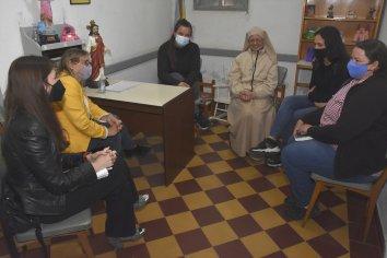 El gobierno garantizará el cuidado de los niños y la fuente laboral de los trabajadores del Hogar Ángeles Custodios