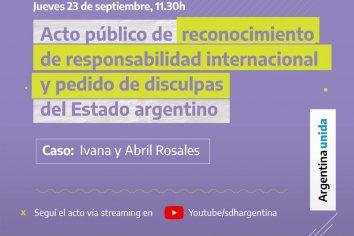 El Estado Argentino pide disculpas ante la CIDH en un caso de violencia de género