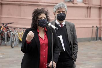 """Vizzotti afirmó que """"la situación epidemiológica es indiscutible"""" y fundamentó las medidas"""