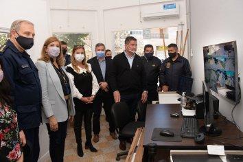 Se inauguró el Centro de Monitoreo de Diamante