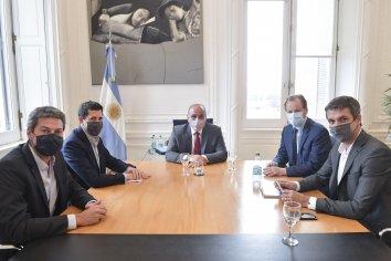 Bordet gestionó ante el jefe de gabinete y ministros la apertura de los pasos vecinales con Uruguay
