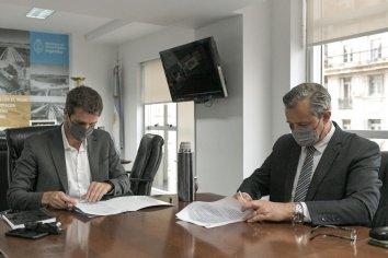 Anunciaron obras de agua y cloacas para Paraná