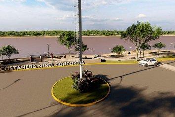 """Bordet: """"la nueva costanera Concordia potenciará la integración y el desarrollo"""""""