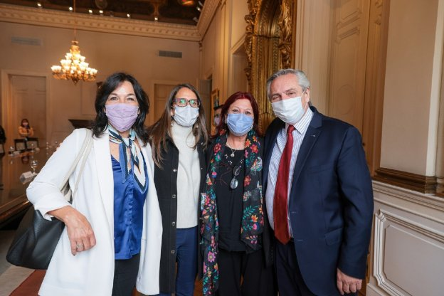 La ministra Gómez Alcorta solicitó la designación de la Dra. María Cristina Perceval como secretaria de Políticas de Igualdad y Di