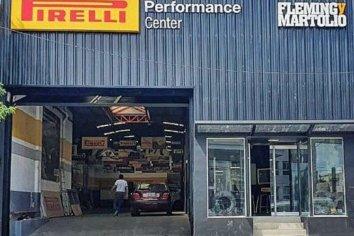 Robaron importante cantidad de dinero de un comercio de neumáticos