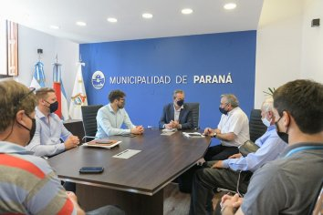 El Municipio acompaña la peregrinación Hasenkamp - Paraná