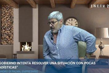 """Di Palma: """"El país está direccionado por lobbies""""."""