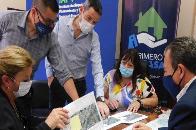 Proyectan nuevas viviendas para Villa Libertador San Martín