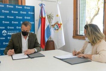 La Municipalidad y ASPASID firmaron un convenio para la inclusión laboral