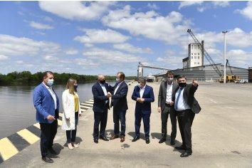 Entre Ríos recibe el apoyo de la Nación para ampliar la exportación con contenedores desde Concepción del Uruguay