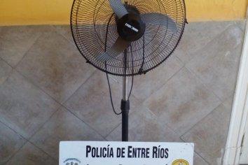 Una mujer tuvo que devolver un ventilador que habría comprado hace un tiempo