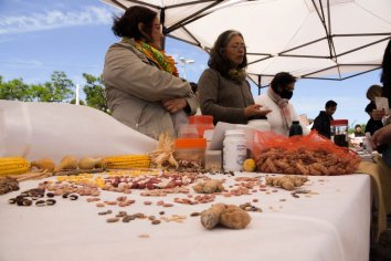 Se realizó la primera Feria de Intercambio de Semillas Nativas y Criollas