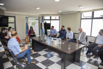 Se abordó una importante agenda de trabajo junto a intendentes del departamento Uruguay
