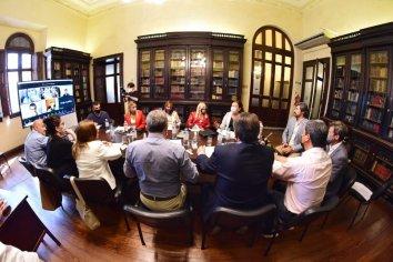 Richard, Bisogni y Benítez expusieron ante diputadas y diputados sobre la obra pública en Entre Ríos