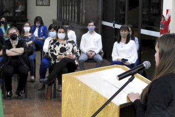 La provincia acompañó la presentación del área de Derechos Humanos y Violencia de Género de Cerrito