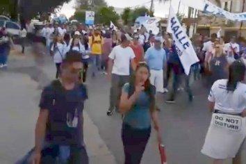 """Los militantes agradecidos por """"la vuelta a las calles"""""""